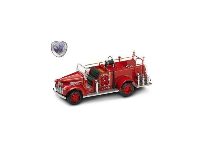 Yat Ming 20068 Camion Pompieri GMC FIRETRUCK 1941 1:24 Modellino