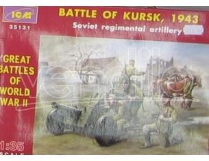 Icm Icm35131 Battle Of Kursk Soviet Figura 1:35 Modellino