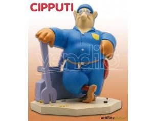 Cipputi Tullio Altan Statua 25 cm in resina Edizione Limitata Infinite