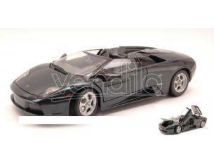 Maisto Mi31636 Lamborghini Murcielago Spyder 2002 Metallolic Black 1:18 Modellino