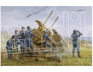 Trumpeter TP2347 CONTRAEREA GERMAN 37 mm FLAK 43 ZWILLING KIT 1:35 Modellino