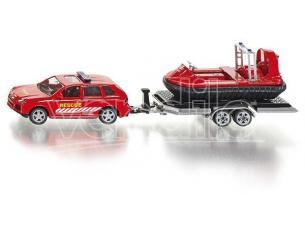 Siku Sk2549 Car Con Trailer E Hovercraft 1:50 Modellino