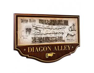 Harry Potter Insegna / Placca Muro Diagon Alley 45 Cm Noble Collection