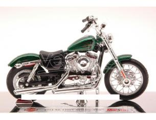 Maisto Mi13078 Harley Davidson Xl 1200v Seventy-two 2012 Metallolic Green 1:18 Modellino