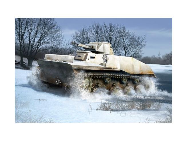 HOBBY BOSS HBB83825 RUSSIAN T-40 LIGHT TANK KIT 1:35 Modellino