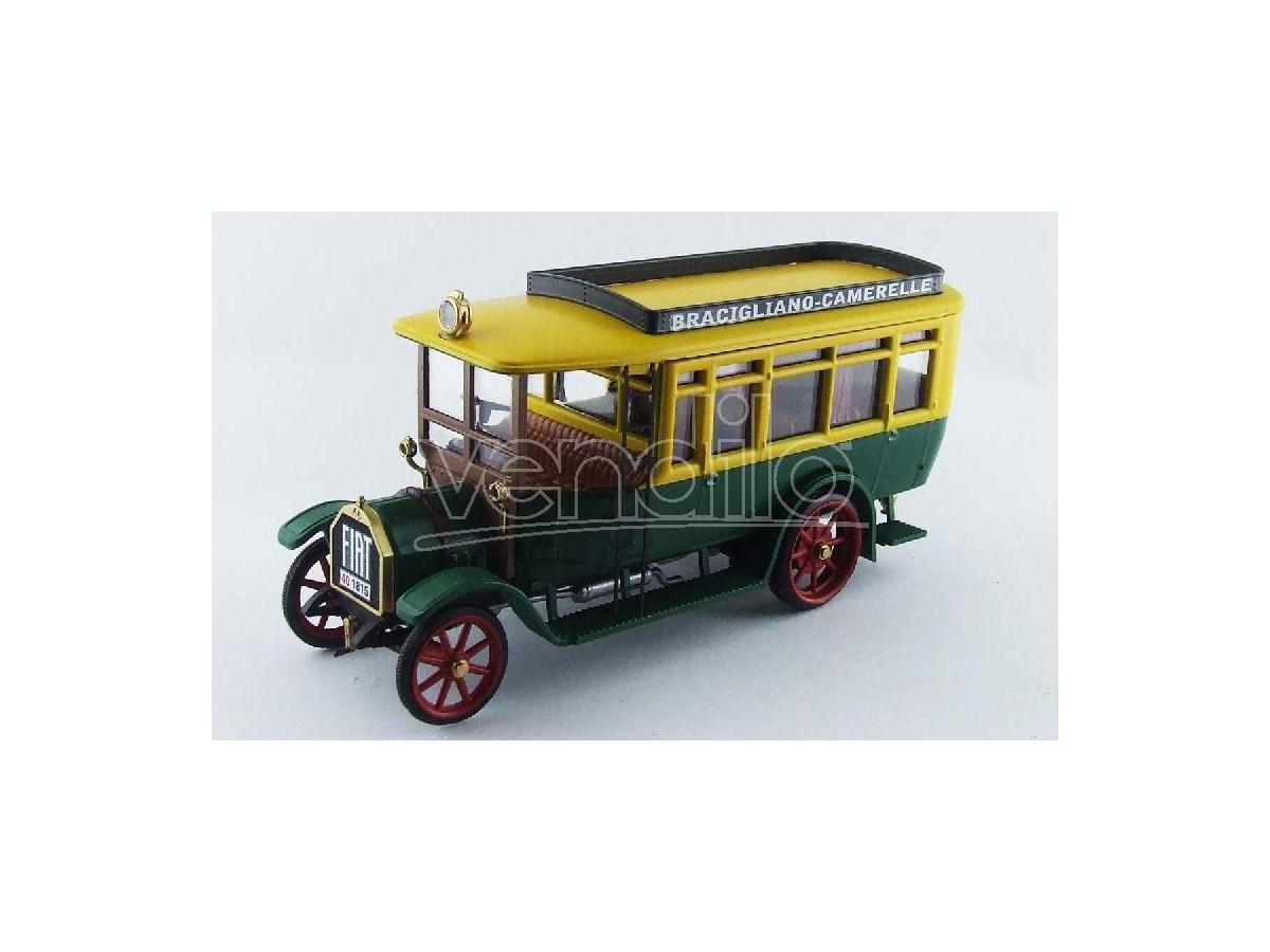 Rio RI4433 FIAT 18BL AUTOBUS BRACIGLIANO-CAMARELLE 1916 1:43 Modellino