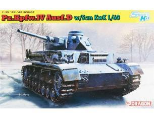 Dragon D6736 PZ.KPFW.IV AUSF.D W/5 cm KwK L/60 KIT 1:35 Modellino
