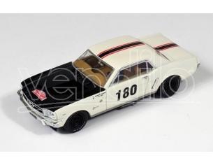 PremiumX PRD313 FORD MUSTANG N.180 DNF R.AUTOM.MONTE CARLO 1965 GEMINIANI-ANQUETIL 1:43 Modellino