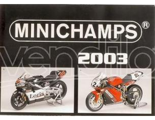 Minichamps PMCATPOST POSTER MOTO 2003 cm 80x60 Modellino