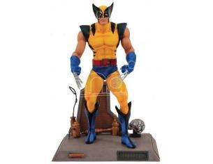 Marvel Wolverine Yellow Diamond Select Action Figura Scatola Rovinata