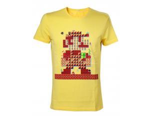 Maglia Mario Monete Nintendo T Shirt 30th Anniversary Size L Bioworld