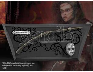 Harry Potter Bacchetta Magica Bellatrix Lestrange con Espositore Noble