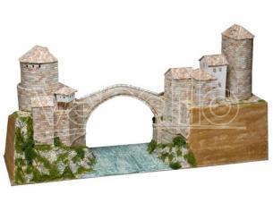 Aedes Ars Ads1204 Ponte Di Mostar Bosnia Sec.xvi  Pezzi 5900 Kit 1:130 Modellino