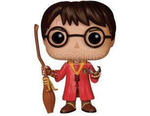 Harry Potter Funko POP Film Vinile Figura Harry con Divisa da Quidditch 9 Cm