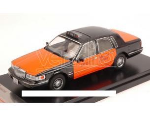 Premiumx Prd363 Lincoln Town Car 1996 Usa Taxi Arancione/black 1:43 Modellino