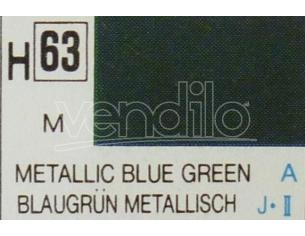 Gunze Gu0063 Blue Green Metallolic Ml 10 Pz.6 Modellino