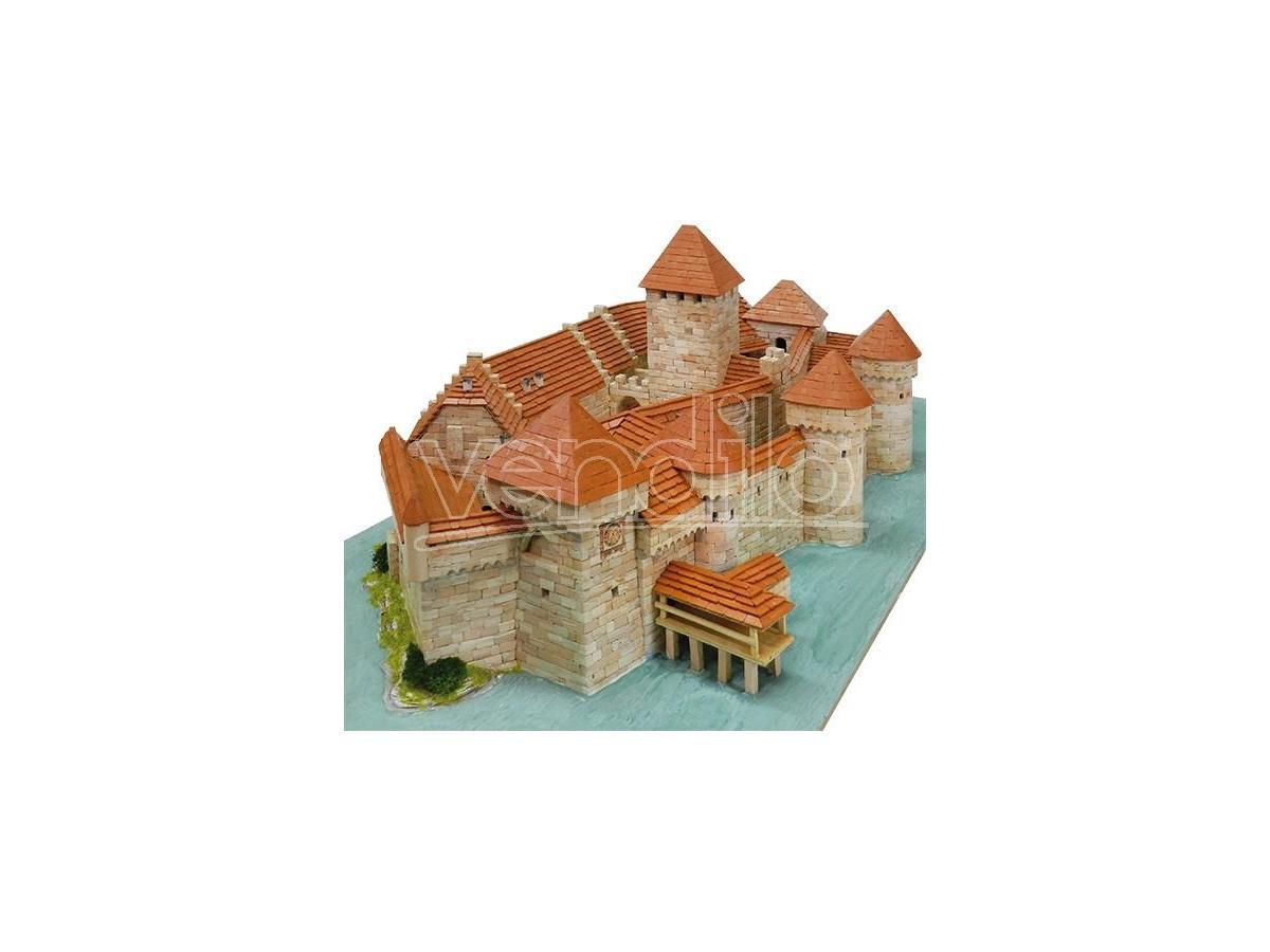 Aedes Ars Ads1012 Castello Di Chillon Switzerland Sec.xii  Pezzi 8900 Kit 1:190 Modellino