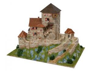 Aedes Ars Ads1054 Castello Burg Branzoll Italia Sec.xiii  Pezzi 3800 Kit 1:110 Modellino