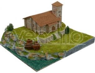 Aedes Ars Ads1107 Chiesa Romanica De Santa Cecilia Spain Sec.xii  Pezzi 1400 Kit 1:150 Modellino