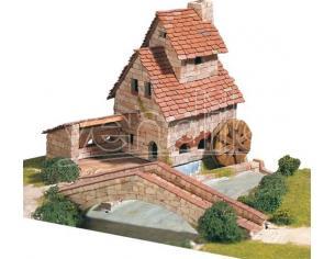 Aedes Ars Ads1409 Mulino Con Ponte  Pezzi 2000 Kit Mm 285x250x175 Modellino