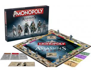 Gioco da Tavolo Monopoli Assassin's Creed versione Inglese Winning Moves