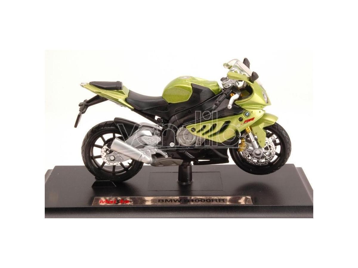 Maisto Mi10032gr Bmw S1000rr Metallolic Green 1:18 Modellino
