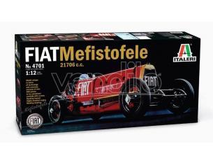 Italeri IT4701 FIAT MEFISTOFELE 1924 RECORD VELOCITA' 230 Km/h E.ELDRIGE KIT 1:12 Modellino