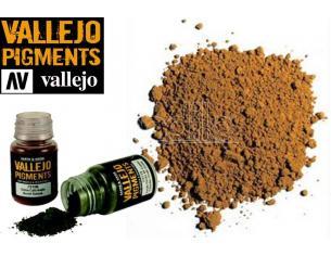 VALLEJO PIGMENT DARK YELLOW OCHRE 73103 COLORI VALLEJO