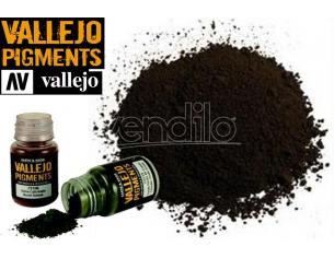 VALLEJO PIGMENT NATURAL UMBER 73109 COLORI VALLEJO