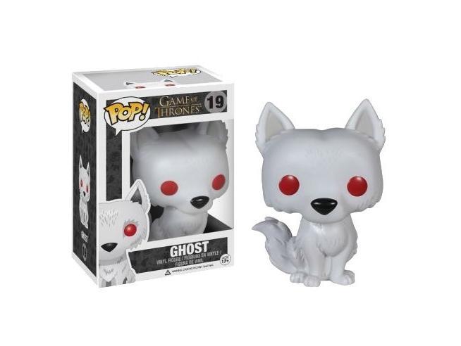 Game of Thrones Funko POP Serie TV Vinile Figura Ghost 10 cm