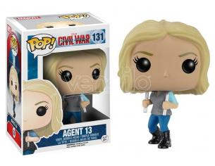 Capitan America Civil War Funko POP Marvel Vinile Figura Agente 13 10 cm