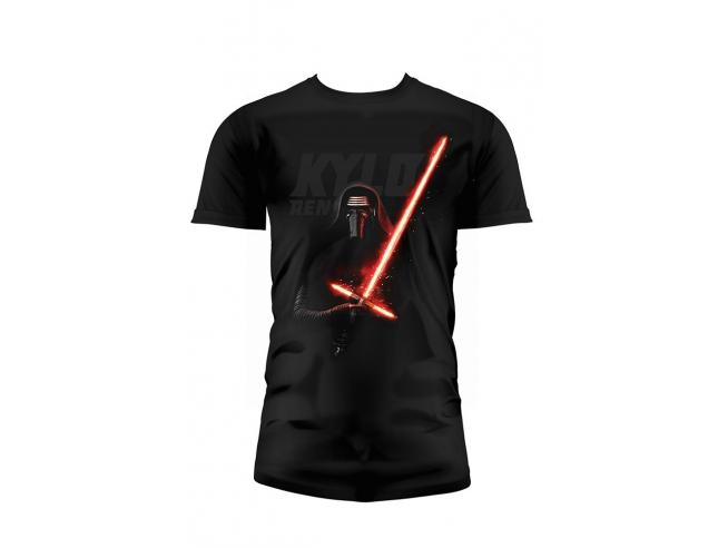 Sd Toys T-shirt Sw Ep7 Kylo Lightsaber Blck Bambino Taglia M T-shirt