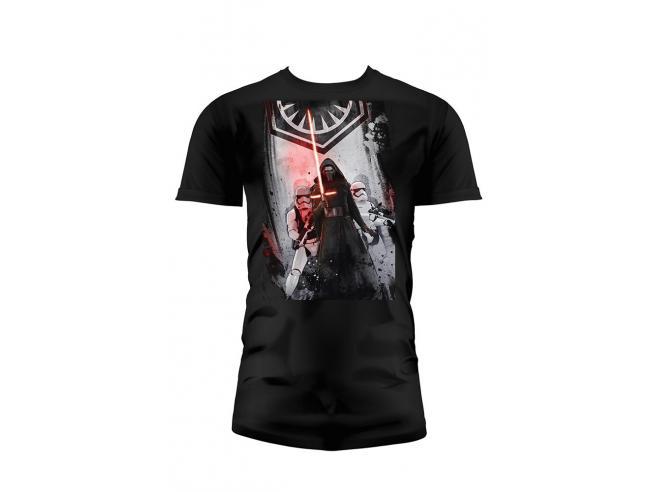 Sd Toys T-shirt Star Wars Ep7 First Order Nera Boy Taglia Xl T-shirt