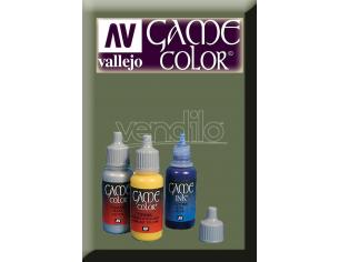 VALLEJO GAME COLOR HEAVY GREY EXOPAQ 72145 COLORI VALLEJO