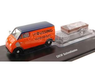 Schuco SH2389 DKW SCHNELLASTER BUSSING 1:43 Modellino