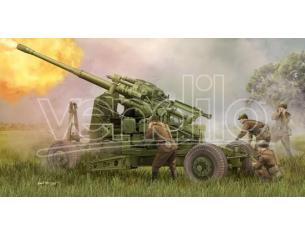 Trumpeter TP2349 SOVIET 100 mm AIR DEFENCE GUN KS-19M2 KIT 1:35 Modellino