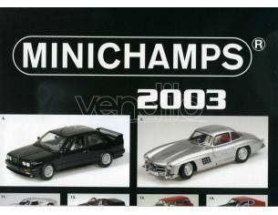 Minichamps PMCATPOST1 POSTER AUTO 2003 cm 80x60 Modellino