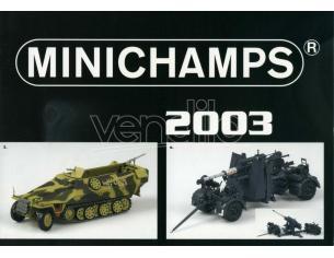 Minichamps PMCATPOST3 POSTER MEZZI MILITARI 2003 cm 80x60 Modellino