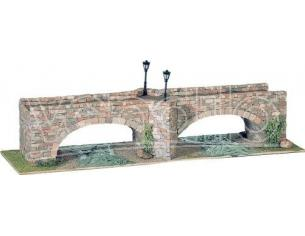 Domus Kits 40253 Ponte 3 A Doppo Arco In Pietra  Pezzi 2126 1:87 Kit Modellino