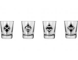 Sd Toys Batman Vs Superman Mini Bicchieri Set (4) Bicchieri