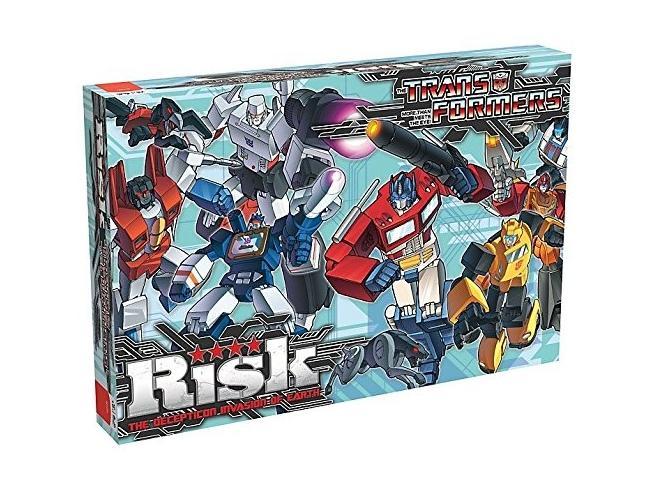 Gioco da Tavolo Risiko Transformers versione Inglese Winning Moves