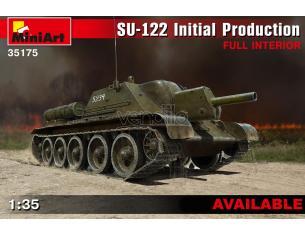 Miniart MIN35175 SU-122 INITIAL PROD.W/FULL INTERIOR KIT 1:35 Modellino
