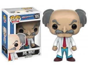 MegaMan Funko POP Games Vinile Figura Dr. Wily 9 cm