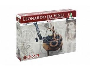 Italeri IT3111 LEONARDO DA VINCI FLYING PENDULUM CLOCK DIM.BOX cm 31x21x6 KIT Modellino