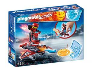 PLAYMOBIL 6835 - FIRE-ROBOT CON SPACE-JET LANCIA DISCHI