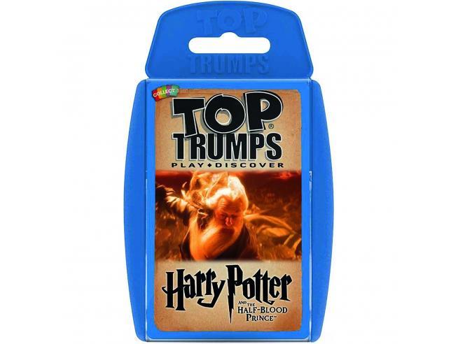 Harry Potter Top Trumps E Il Principe Mezzosangue Carte Gioco Winning Moves