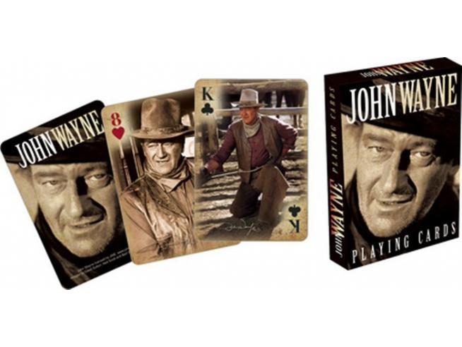 AQUARIUS ENT JOHN WAYNE PLAYING CARDS CARTE DA GIOCO