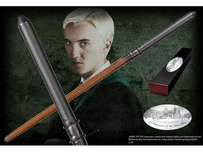 Harry Potter Bacchetta Magica di Draco Malfoy Character Noble Collection