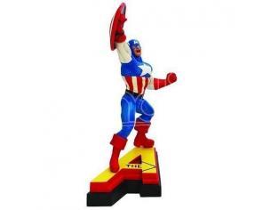 Marvel Figura Capitan America Statua 13 cm Action in Resina