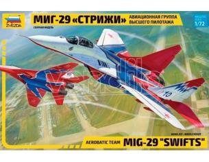 Zvezda Z7310 MIG-29 SWIFTS ACROBATIC TEAM KIT 1:72 Modellino